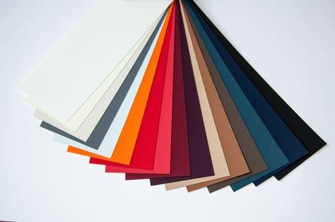 Образцы разных видов бумаг