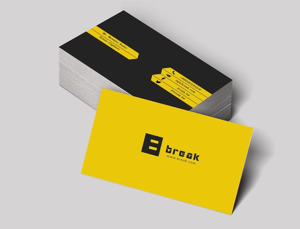 Желтые визитки – визитки, заряженные оптимизмом